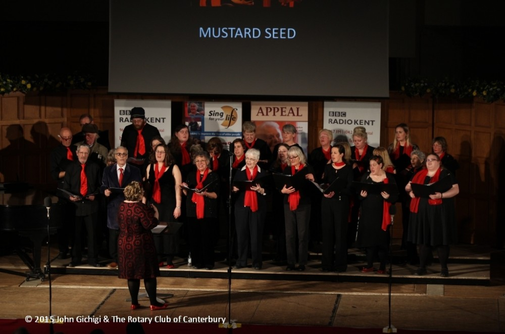 Mustard Seed Singers at Top Choir Kent 2015