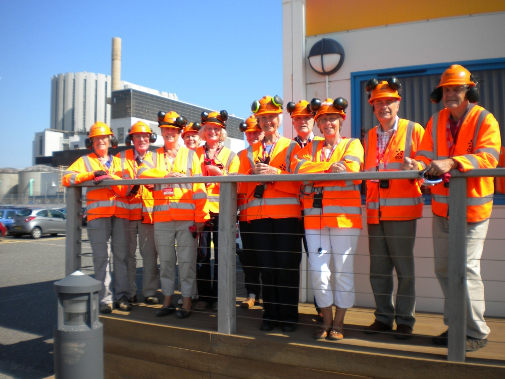 Rotary Visitors to Dungeness B Power Station