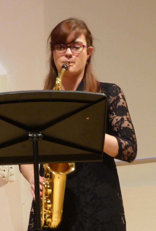 Helena Jukes, Saxophone