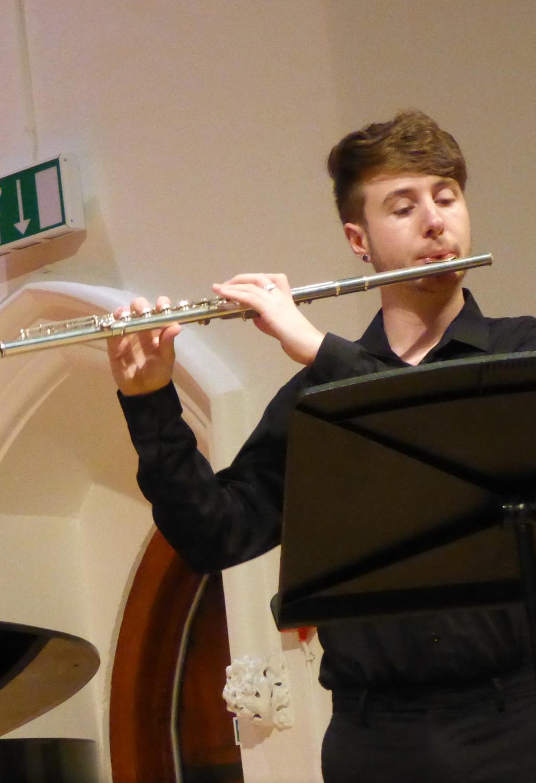 Matt Mann, Flute
