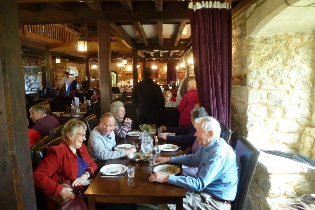 Lunch at the Priory