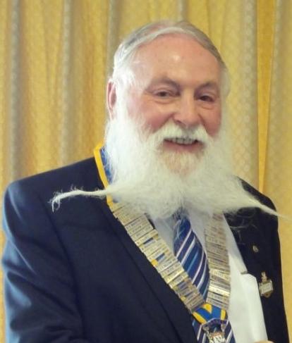 President Geoff Goodban 2013-2014