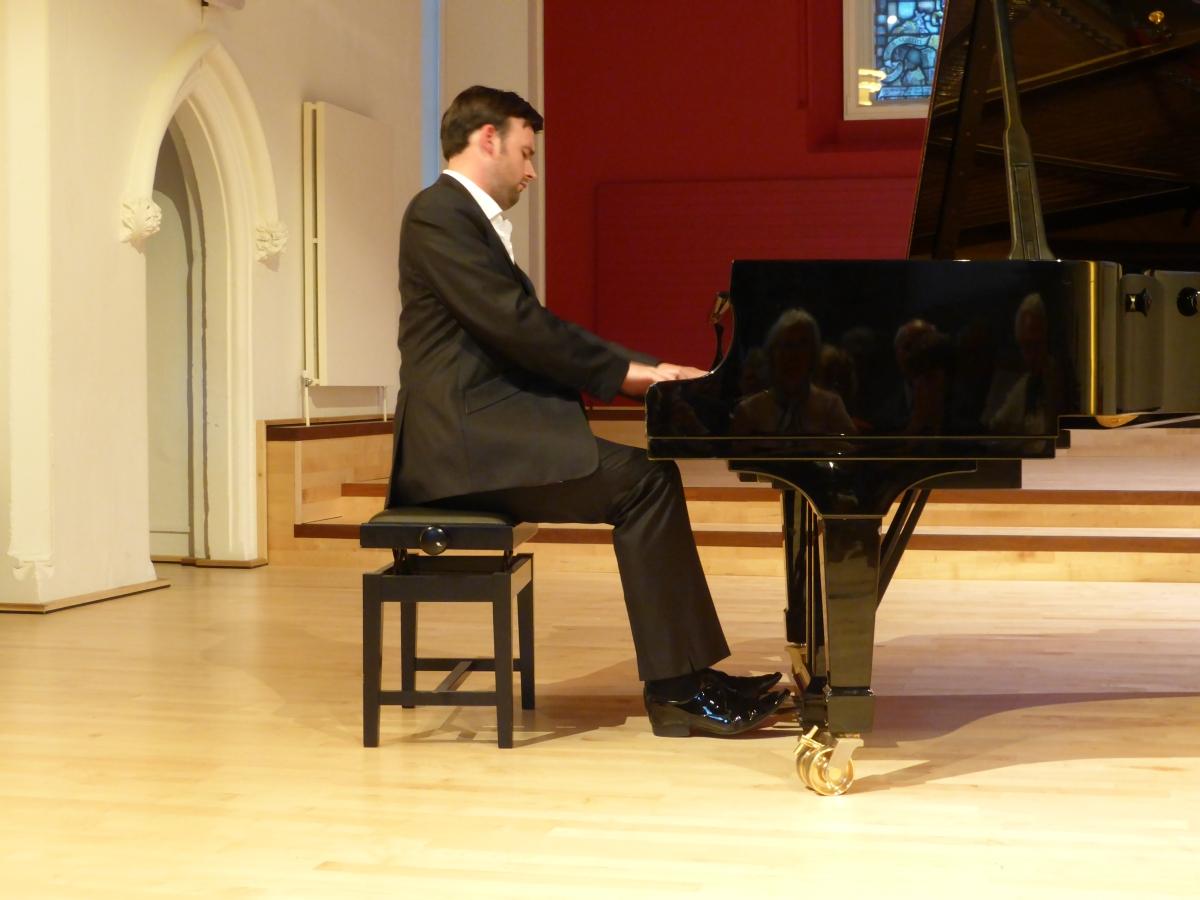 John Paul Ekins plays Schubert