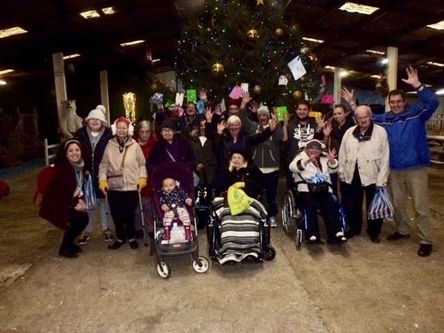 Roper House Reindeer Centre Visit