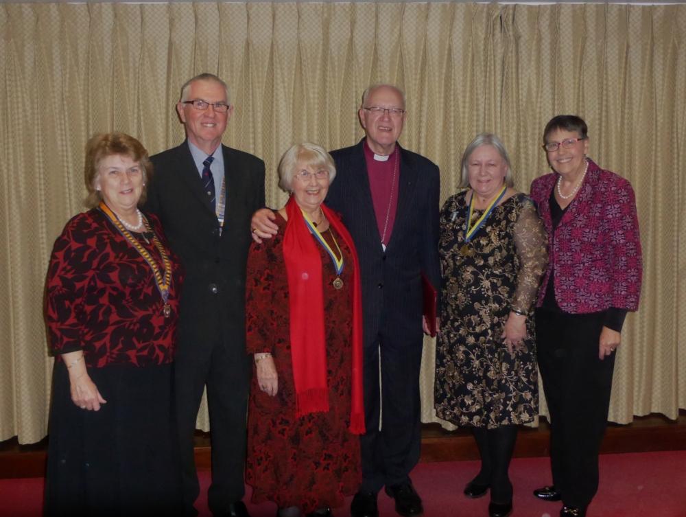 Guests of Honour and Honoured Inner Wheelers
