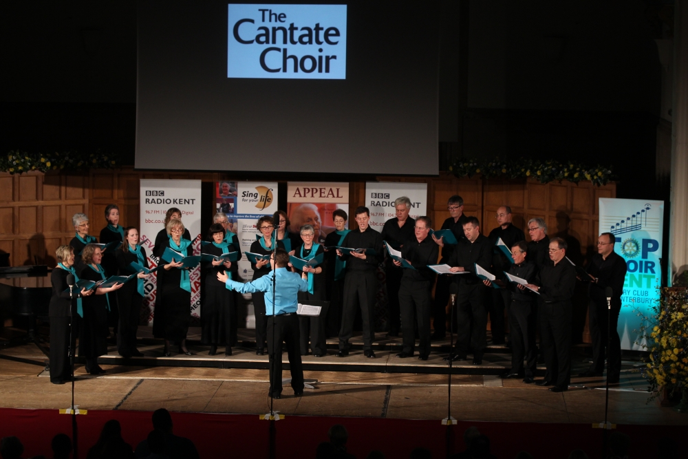 Top Choir Kent 2015 Cantate Choir