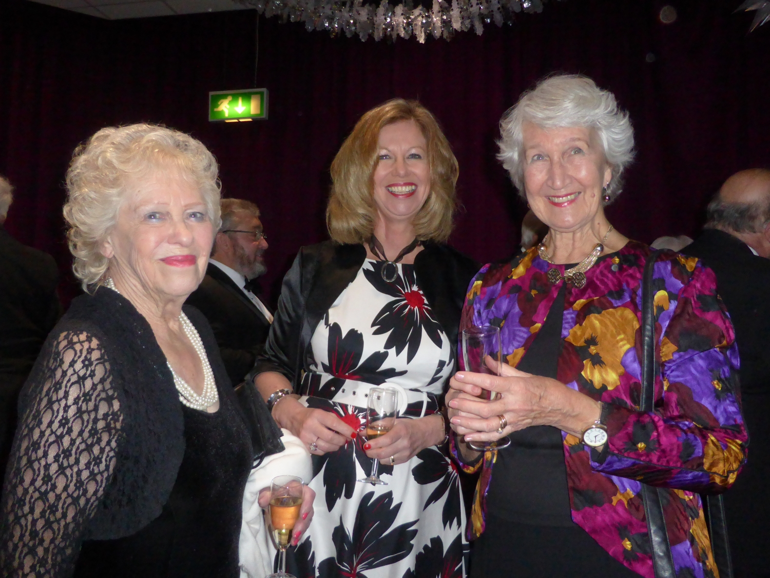 Pam Evans, Jo Nolan and Joan Hill
