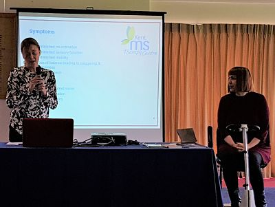 Presentation about The Kent MS Therapy Centre
