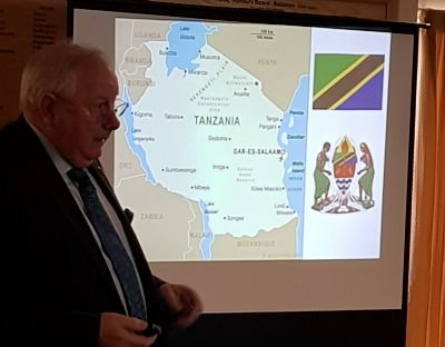 Lunchtime talk: Peter Warr, Team Tanzania