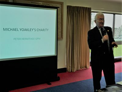 Lunchtime talk: Peter Hermitage, Yoakley Care