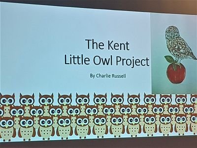 Lunchtime talk: Charlie Russell, Kent Little Owls
