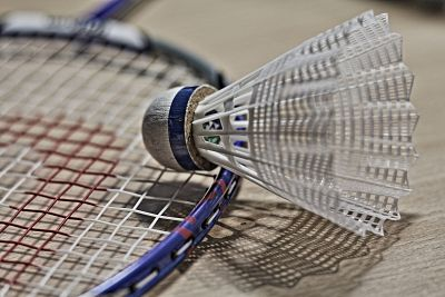 Picture: A badminton racket and shuttlecock. Image by Tabble from Pixabay.