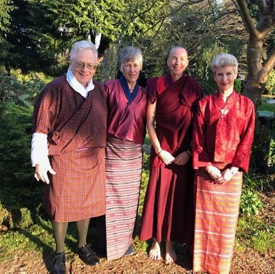 Rotarians supporting 'Opening your Heart to Bhutan'