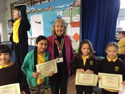 Awards for Children's Christmas-themed Writing Competition