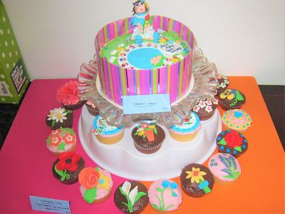 Picture: The Cake decorating competition winning entry! Picture credit: Rotary Club of Canterbury.
