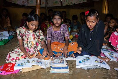 Supporting Rohingya refugees via Children on the Edge