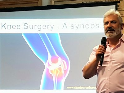 Evening talk: Surgeon Chan Jeer, 'Dodgy knees'