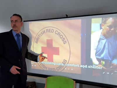 Lunchtime talk: Charles Marshall, British Red Cross