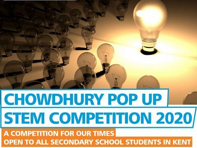 NEW! Chowdhury Pop Up STEM Competition 2020