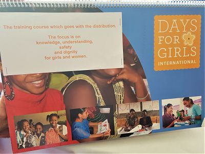 Visitor tells us about Days for Girls non-profit