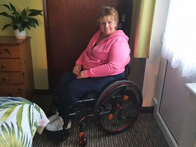 Donation towards a special wheelchair