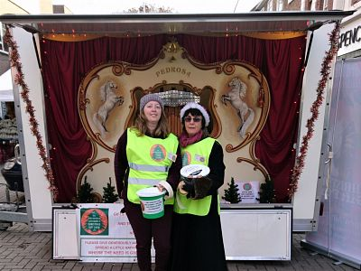 Collecting for The Lord Mayor of Canterbury's Christmas Gift Fund