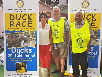Duck Race 2018: Ducks 'for sale' at Whitefriars