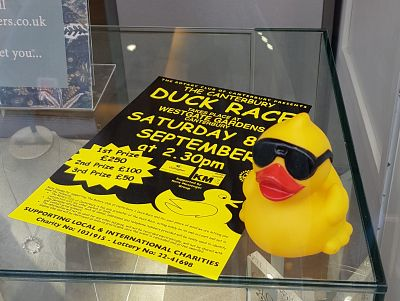 Duck Race 2018 - Iconic 'selling' ducks