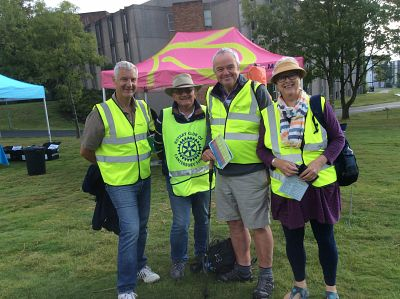 Memory walk volunteers