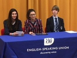 English Speaking Union's Public Speaking Competition 2017