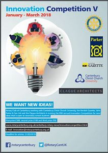 Innovation Competition poster picture