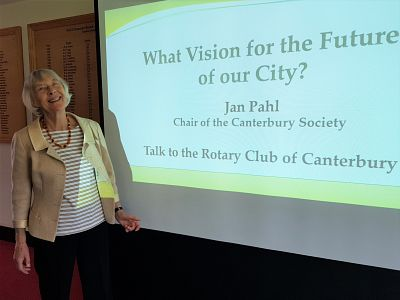 Lunchtime talk - Jan Pahl, The Canterbury Society