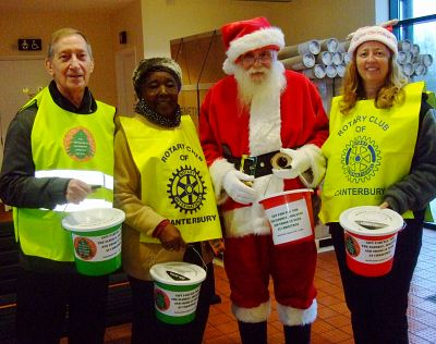 Collection for the Lord Mayor of Canterbury's Christmas Gift Fund