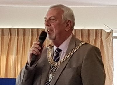 Councillor Colin Spooner, the Lord Mayor of Canterbury