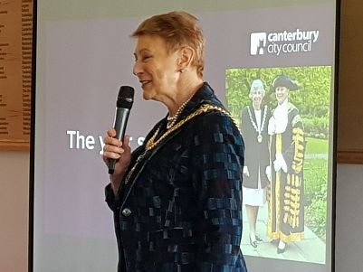 Lunchtime talk - Lord Mayor Rosemary Doyle