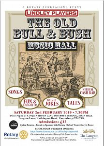 The Old Bull & Bush - music hall event
