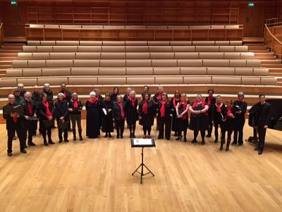 Mustard Seed Singers at the Colyer Fergusson Hall