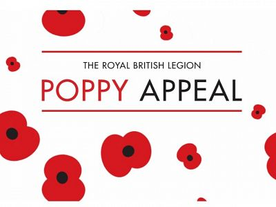 Thanks from the Royal British Legion for Poppy Appeal