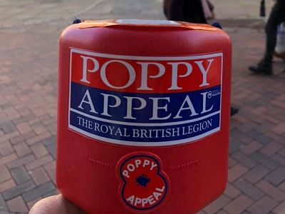 Supporting the poppy appeal 2019