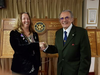 New member Robert Temple inducted