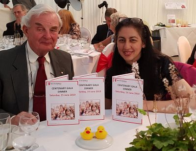 Rotarians attend Save the Children's 100 Year Gala