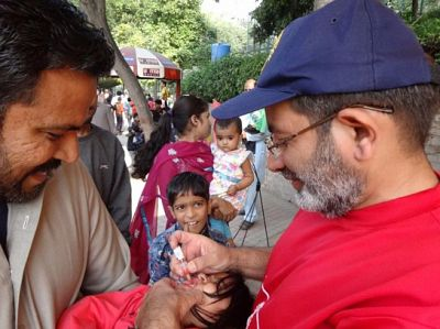 Lunch talk: PDG Shehzad Ahmed, End Polio Now journey