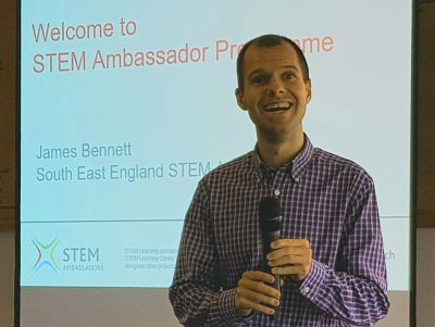 Lunch talk: James Bennett, STEM Ambassador Programme
