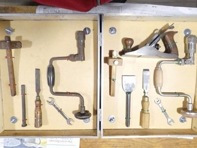 The tools that TFSR would normally refurbish.