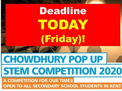 Deadline Today! Popup Competition