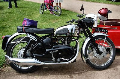 Our Members' hobbies - my Velocette