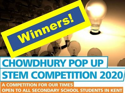 Pop Up STEM Competition 2020 - winners!