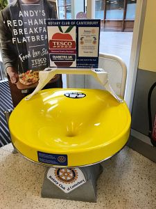 The Wishing Well in Tesco at Whitefriars in Canterbury. Picture credit: Deborah Connolly.