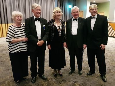 Rotarians at the Dinner
