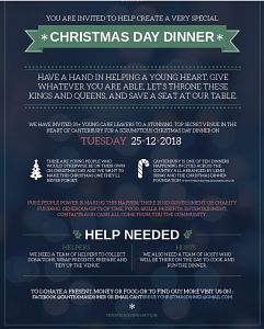 The Canterbury Christmas Dinner - for care leavers